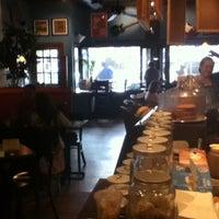 Photo taken at Rockn' Joe Coffeehouse & Bistro by Ashley C. on 11/10/2011