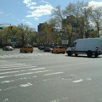 Photo taken at MTA Bus - E 125 St & Lexington Av (Bx15/M35/M60-SBS/M98/M100/M101) by Daniel S. on 4/9/2012