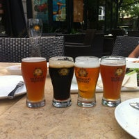 Photo taken at Shanghai Brewery by Erina on 8/11/2012