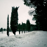 Photo taken at Parco Miralfiore by Andrea d. on 2/4/2012