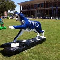 Photo taken at University of Memphis by David W. on 9/10/2011