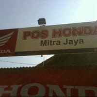 Photo taken at Pos HONDA MITRA JAYA - pasar pucung by Ri_sky on 6/23/2011