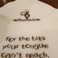 Photo taken at Nando's by John M. on 1/12/2012