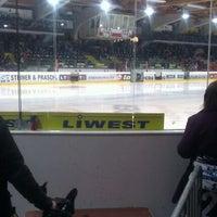 Photo taken at Keine Sorgen EisArena by Martin T. on 2/23/2012