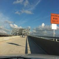 Photo taken at Huey P. Long Bridge by Whitney R. on 4/29/2012