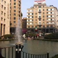 Photo taken at Piazza San Babila by Belloi E. on 10/29/2011
