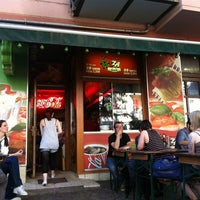 Photo taken at Pizza Dach by Marvin T. on 5/20/2012
