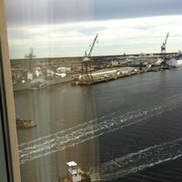 Photo taken at Renaissance Portsmouth-Norfolk Waterfront Hotel by Samuel C. on 12/29/2011