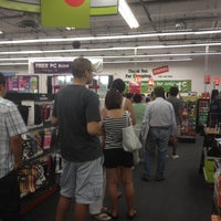 Photo taken at Staples - CLOSED by Dan P. on 8/15/2012