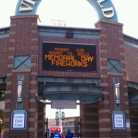 Photo taken at Victory Field by Nancy M. on 5/24/2012