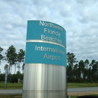 Photo taken at Northwest Florida Beaches International Airport (ECP) by Victor R. on 8/17/2012