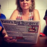 Photo taken at Kellys Big Burger by Caleb B. on 7/4/2012
