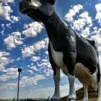 Photo taken at Salem Sue - World's Largest Holstein Cow by Keelia R. on 7/19/2012