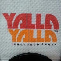 Photo taken at Yalla Yalla by Felquis G. on 6/13/2012