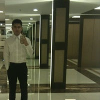 Photo taken at Waterfront Manila Pavilion Hotel and Casino by Philip Ace F. on 11/23/2011