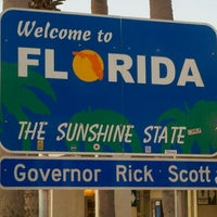 Photo taken at Florida / Georgia State Line by Ryan I. on 10/20/2011