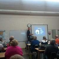 Photo taken at Rinaldi Adult School by Edward H. on 11/16/2011