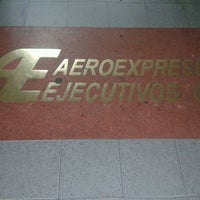 Photo taken at Aeroexpresos Ejecutivos by Victor H. on 5/5/2012