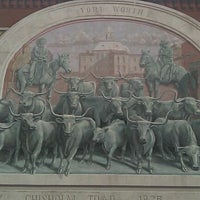 Photo taken at Sundance Square by Lee L. on 3/6/2012