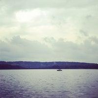 Photo taken at Deep Creek Lake by Marc E. on 9/1/2012