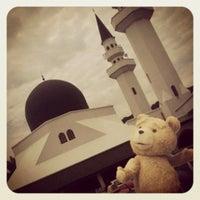 Photo taken at Masjid At-Taqwa by johan i. on 8/31/2012