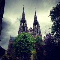 Photo taken at Basilique Sainte-Clotilde by MikaelDorian on 4/11/2012