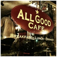Photo taken at All Good Cafe by Ron R. on 8/25/2012