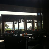 Photo taken at Merica Restaurant, Tanah Lot, Bali by Made Sebastian S. on 4/14/2012