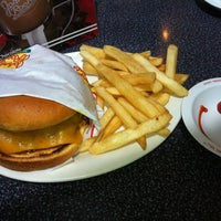Photo taken at Johnny Rockets by Marshall on 7/23/2012