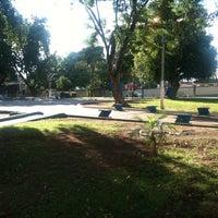 Photo taken at Praca Santos Dumont by Fábio D. on 5/23/2012