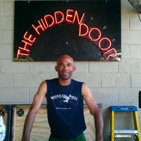 Photo taken at Hidden Door by Michael C. on 9/3/2012