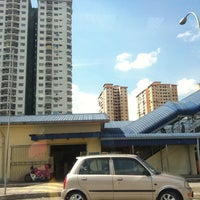 Photo taken at KTM Line - Kepong Sentral Station (KA07) by Lynn on 5/8/2012
