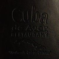 Photo taken at Cuba de Ayer by Katie S. on 2/19/2012