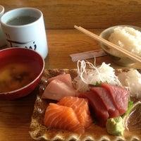 Photo taken at Sushi Tomi by Helen C. on 3/1/2012