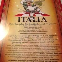 Photo taken at Caffé Italia by Sutheerak R. on 5/27/2012
