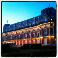 Photo taken at Hôtel du Palais by Roman R. on 8/13/2012