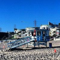 Photo taken at El Porto Beach by Thomas R. on 8/27/2012