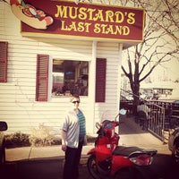 Photo taken at Mustard's Last Stand by Aaron W. on 3/25/2012