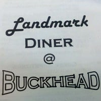 Photo taken at Landmark Diner by Harrison H. on 8/21/2011