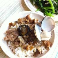 Photo taken at 和平香菇肉飯 He Ping Rou Zao Fan by Jacob S. on 7/14/2011