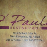 Photo taken at d' Pauli's Resturant by Eric S. on 5/30/2012