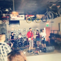 Photo taken at Wheel Club 404 by Kyle F. on 7/22/2012