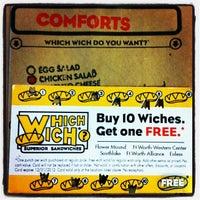 Photo taken at Which Wich Superior Sandwiches by Gavin on 4/23/2012