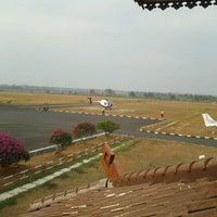Photo taken at Bandara Radin Inten II Lampung Selatan (TKG) by Aldi S. on 9/16/2011