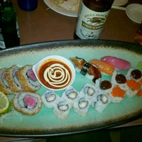 Photo taken at Ru San's Japanese Sushi & Cuisine by Janey S. on 12/29/2011
