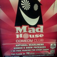 Photo taken at Mad House Comedy Club by Andre M. on 6/1/2012