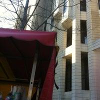 Photo taken at Bozenna's Hot Dog Cart by Frank S. on 11/18/2011