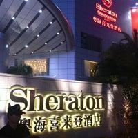 Photo taken at Sheraton Guangzhou Hotel 广州喜来登酒店 by Jitesh Shahani on 7/31/2011