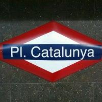 Photo taken at RENFE Plaça de Catalunya by Martin K. on 8/17/2011