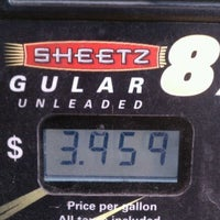 Photo taken at SHEETZ by Kevin M. on 3/26/2012